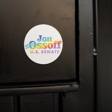 Load image into Gallery viewer, Vote Your Ossoff Pride Sticker 3-Pack