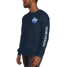 Load image into Gallery viewer, Team Ossoff Long Sleeve Tee