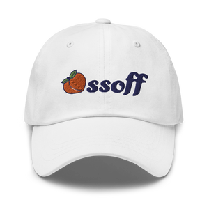 Ossoff for Senate Hat (White)