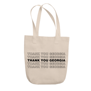Thank You Georgia Tote