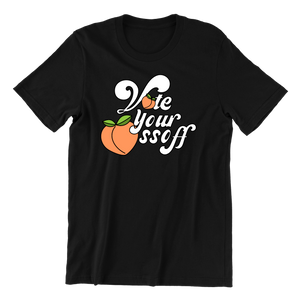 Vote Your Ossoff T-Shirt (Peach)