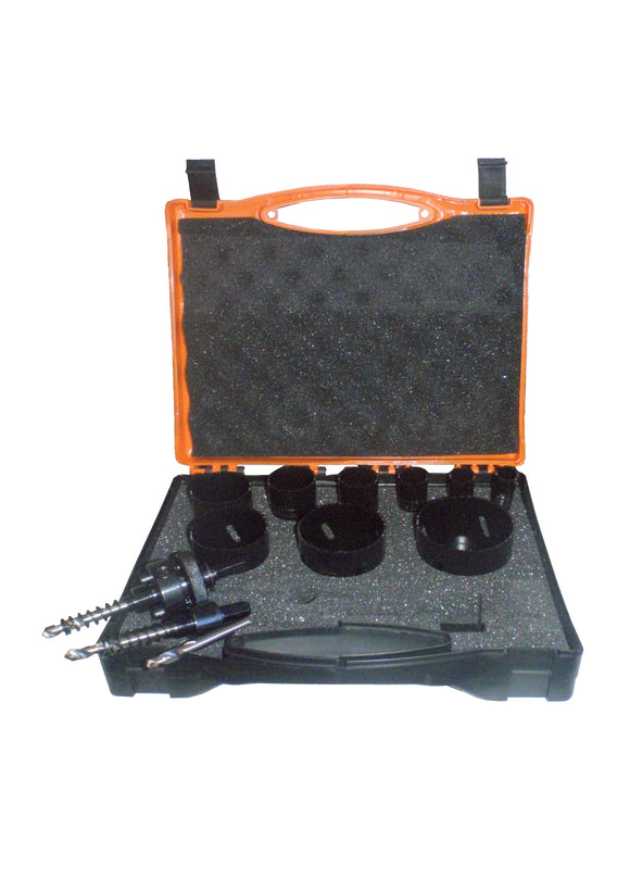 GENERAL PURPOSE 10 TPI HOLESAW KIT