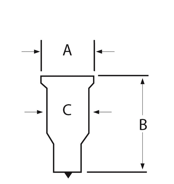 GROUP 3 RECTANGULAR PUNCH 20.0 X 35.0 - 2.5MM RADIUS
