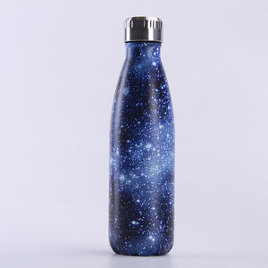 Starry Milky Way Bottle Creative Gradient Stainless Steel Insulated Mug