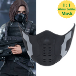 Load image into Gallery viewer, [The Avengers] Halloween Winter Soldier Mask