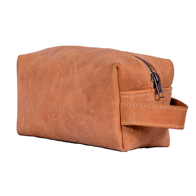 Soft Leather Washbag