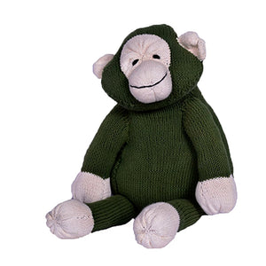 Knitted Monkey Toy