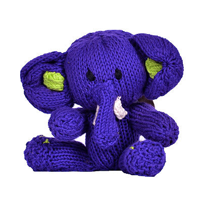 Knitted Elephant Toy