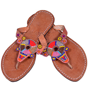 Maasai Beaded Flipflops