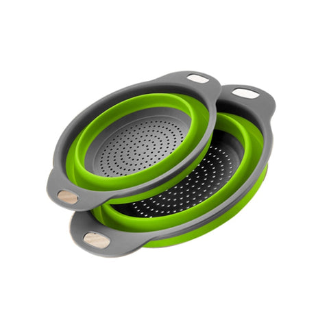 Collapsible Round Colanders - 2 pack