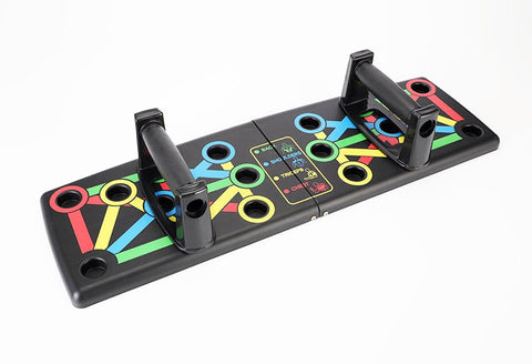 Foldable Compact 9 in 1 Push Up Board