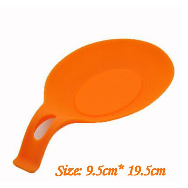 Silicone Heat Proof Spoon And Utensil Rest