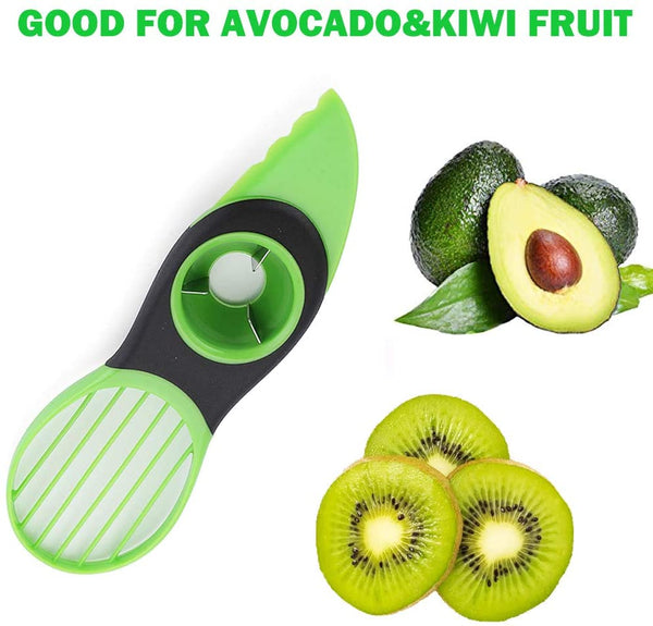 Easy Grip Avocado Pitter, Cutter And Fruit Remover