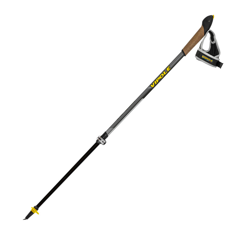 Vipole Vario Black Nordic Walking Poles