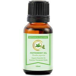 Botanica Culture Organic Peppermint Essential Oil 15ml