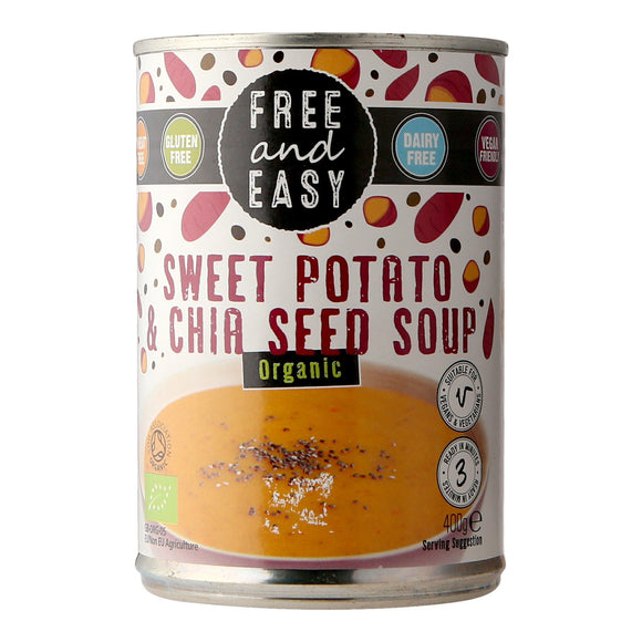 Free and Easy Sweet Potato and Chia Seed Soup (Organic) 400g