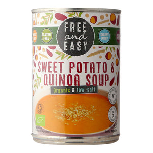 Free and Easy Sweet Potato and Quinoa Soup (Organic and low-salt) 400g