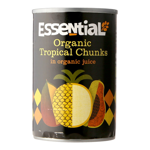 Essential Tropical Chunks in Organic Juice 400g