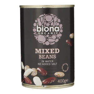 Biona Mixed Beans (In water No added salt) 400g