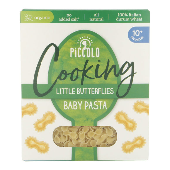 Piccolo Cooking Little Butterflies Baby Pasta (10+ months) 500g