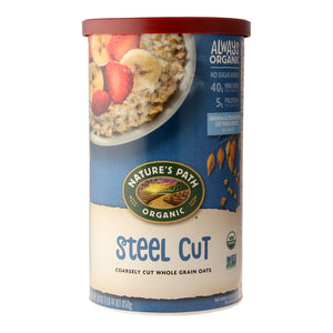 Nature's Path Organic Steel Cut Coarsely Cut Whole Grain Oats 850g