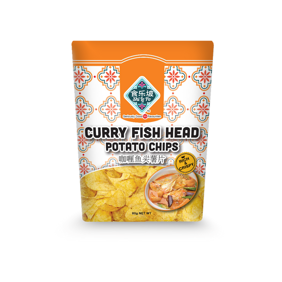 SF-Curry Fish Head Potato Chips 80g