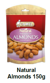 Camel Natural Almonds Baked (ZF) ** 150g x 10