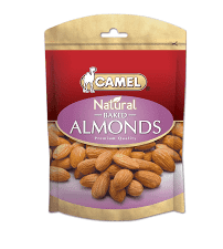 Camel Natural Almonds Baked  80g x 20
