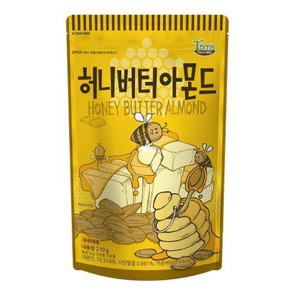GM-Honey Butter Almond 210g