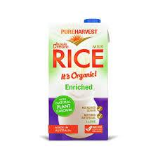 PureHarvest Aussie Dream Enriched Organic Rice Milk 32oz