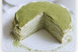 Budget Slab Cake - Green Tea Cheese 12