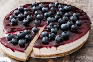 Round Cake - Blueberry Cheese 1.2kg