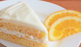 Round Cake - Orange Cheese 1.2kg