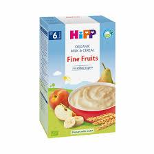 Hipp Organic Milk Pap Fine Fruits 250g