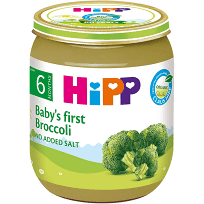 Hipp Organic Baby's First Broccoli 125g