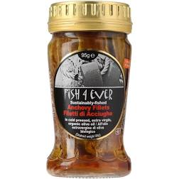 Fish4Ever ORG Anchovies in Olive Oil 95g