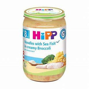 Hipp Noodles With Sea Fish In Cream and Broccoli Sauce 220g