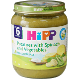 Hipp Organic Spinach With Vegetables and Potatoes 125g