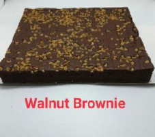 "Slab Cake - Walnut Brownie 12"" x 10.5"""