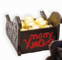 Santa Sleigh with 20pcs Champagne Truffles 440g
