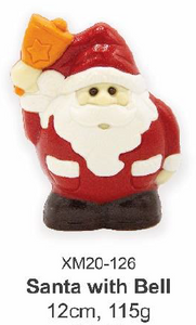 Santa with Bell 12cm, 115g