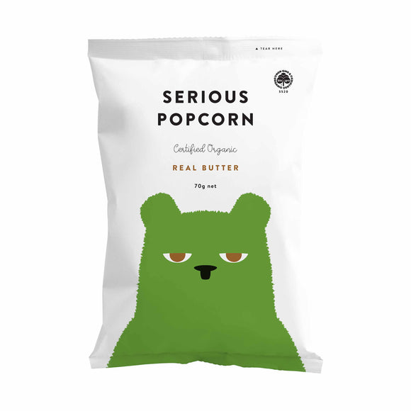 Serious Food Company Real Butter Popcorn 70g