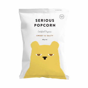 Serious Food Company Sweet & Salty Popcorn 80g