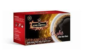 TNI King Coffee Pure Black Instant 15s