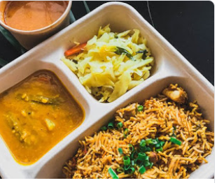 Biryani Bento (Halal) - Chicken or Mutton
