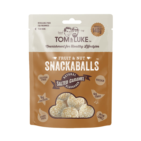 Tom & Luke Salted Caramel Snackaballs 140g