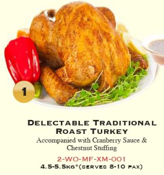 Turkey - Roast Turkey (Halal)*c4.5 - 5.5kg
