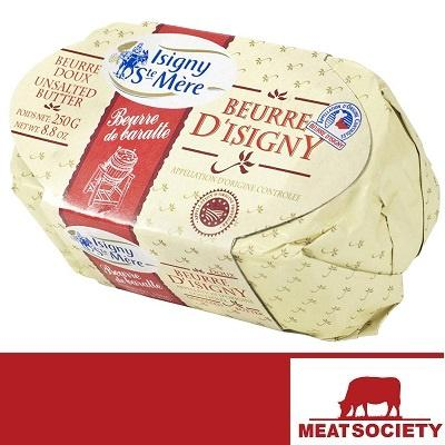 Beurre D'Isigny (Unsalted Butter) 250g (roll pack)