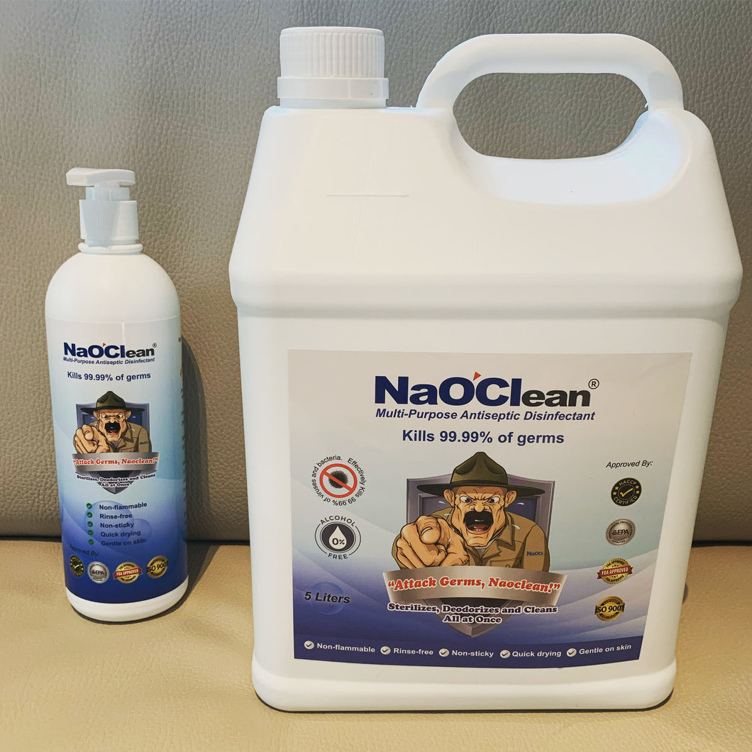 NaOClean Surface Sanitizing Liquid 5 litre