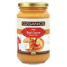 Ozganics Organic Thai Red Curry Sauce 500g